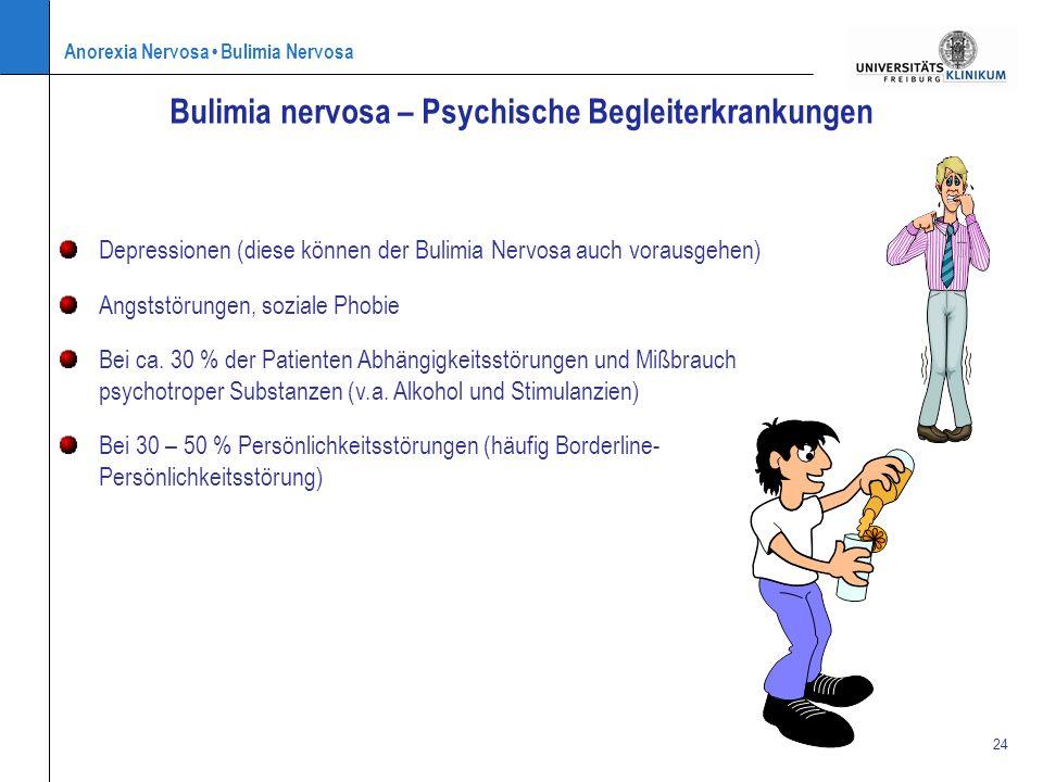 Bulimia nervosa – Psychische Begleiterkrankungen