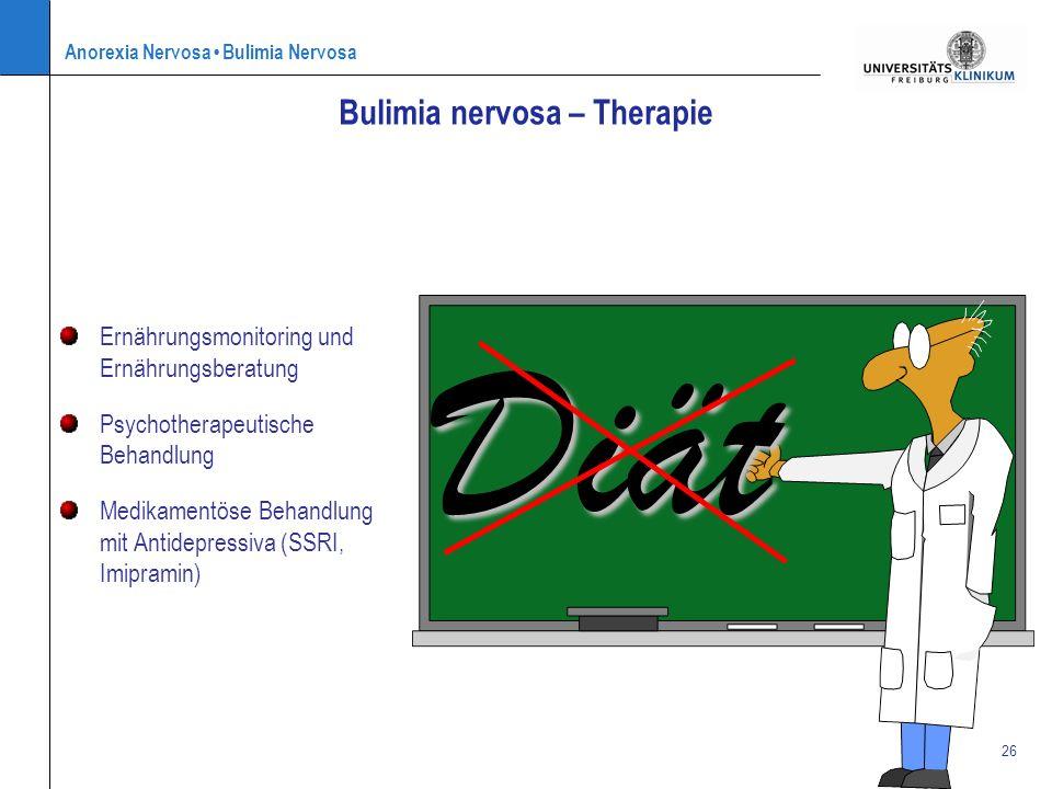Bulimia nervosa – Therapie