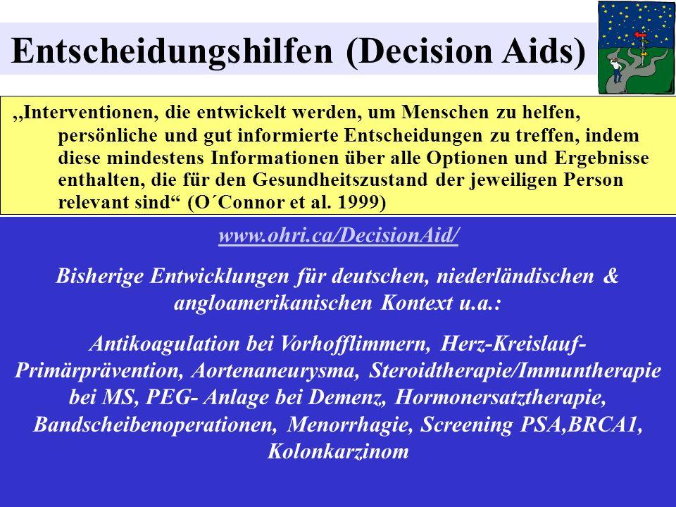 Entscheidungshilfen (Decision Aids)