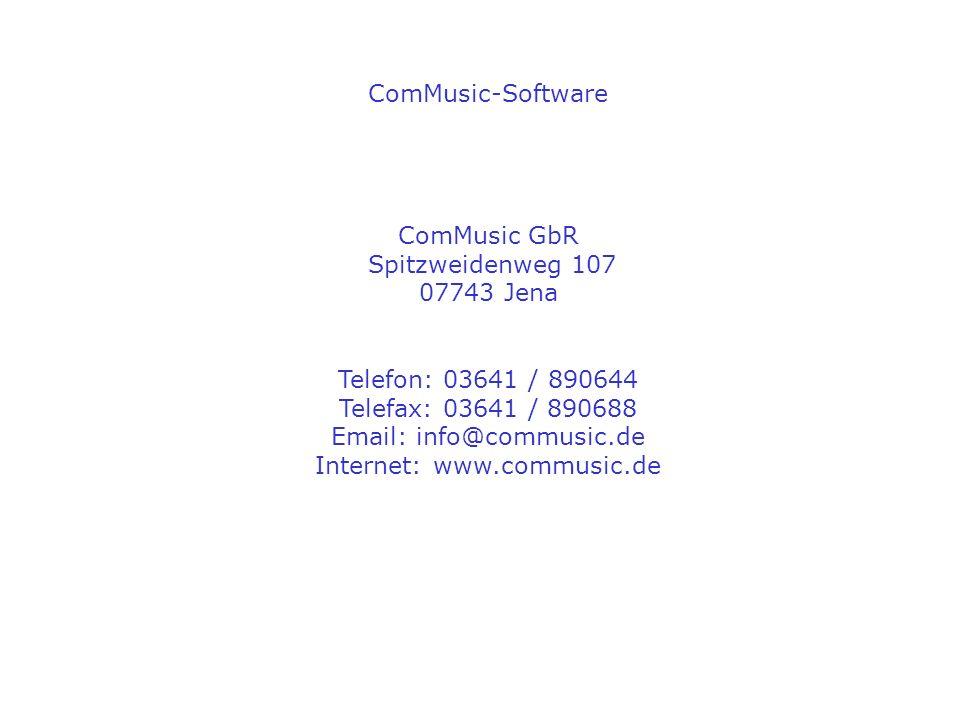 Internet: www.commusic.de