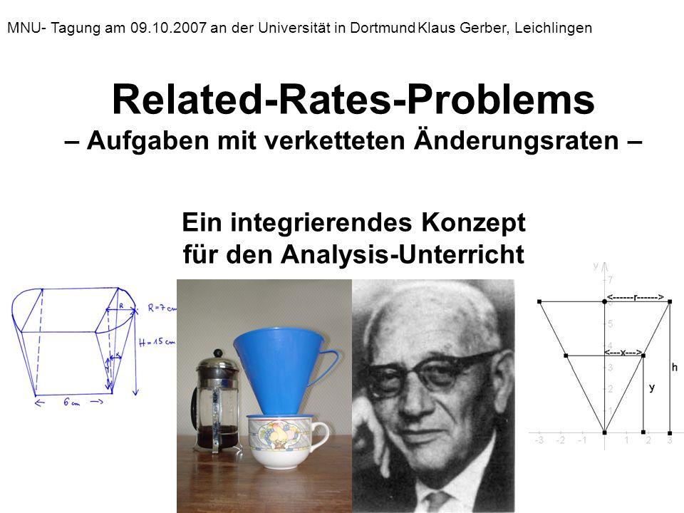 MNU- Tagung am 09. 10. 2007 an der Universität in Dortmund