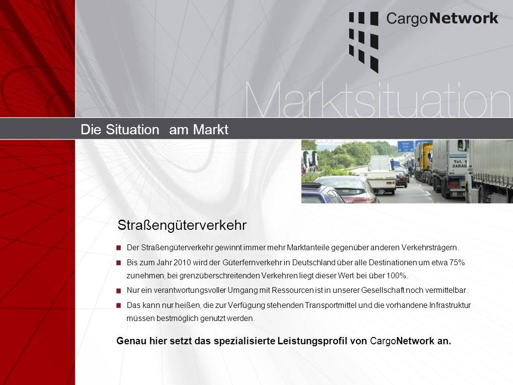 Die Situation am Markt Straßengüterverkehr