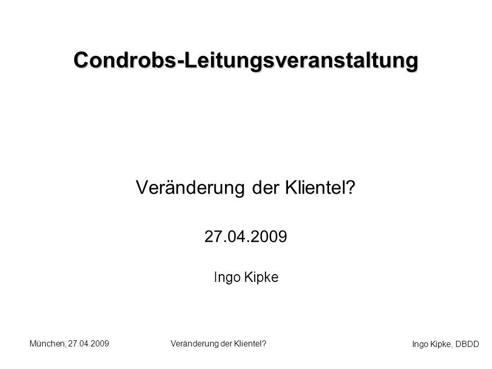 Condrobs-Leitungsveranstaltung