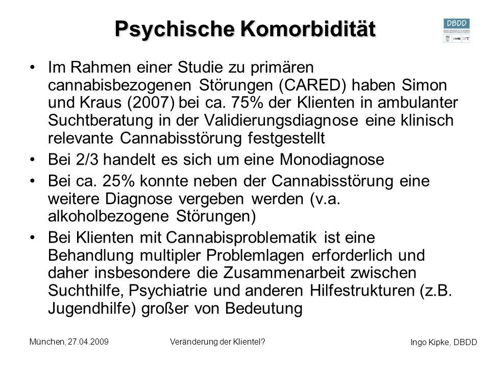Psychische Komorbidität