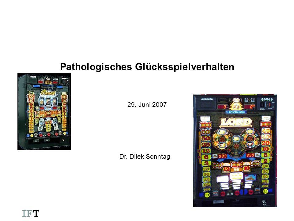 Pathologisches Glücksspielverhalten