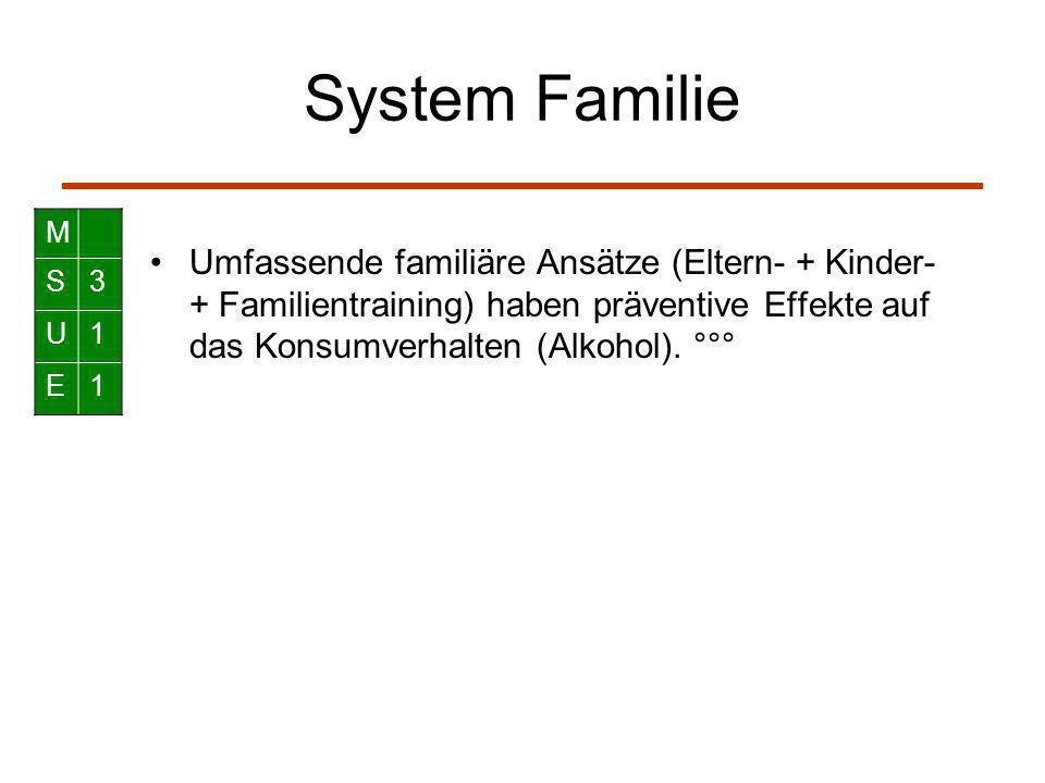 System Familie M. S. 3. U. 1. E.