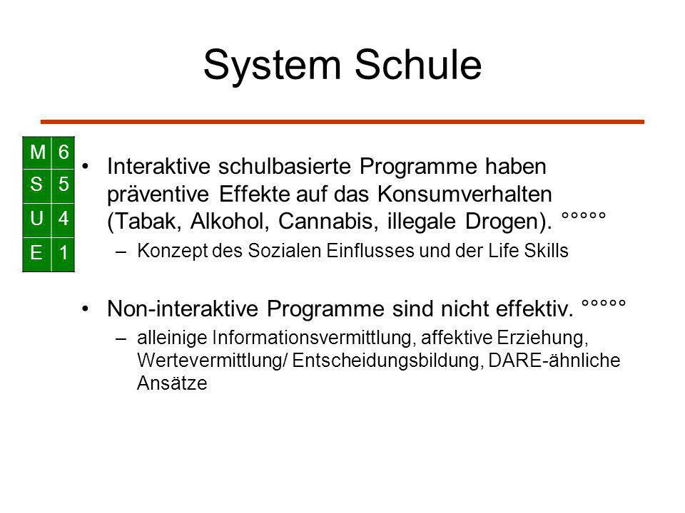 System Schule M. 6. S. 5. U. 4. E. 1.