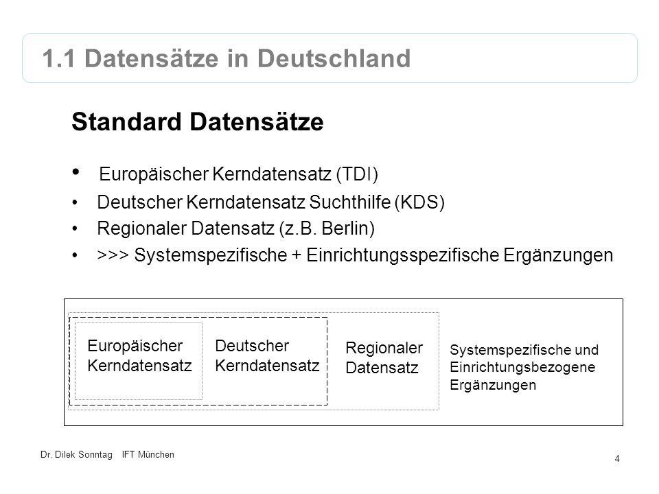 1.1 Datensätze in Deutschland