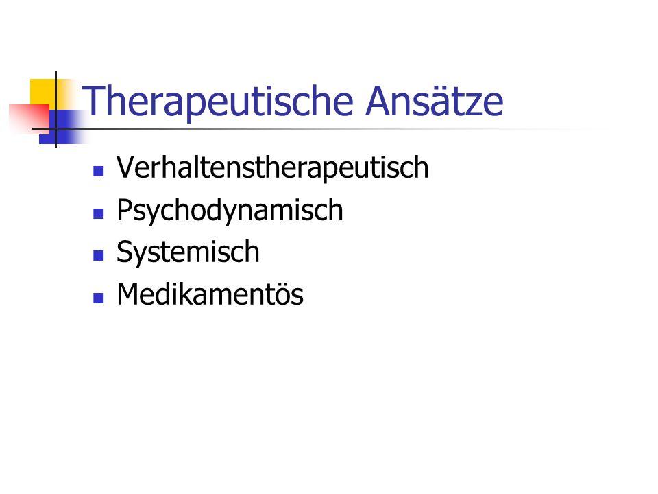 Therapeutische Ansätze