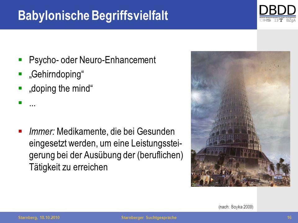 Babylonische Begriffsvielfalt