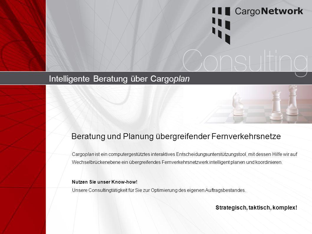 Intelligente Beratung über Cargoplan