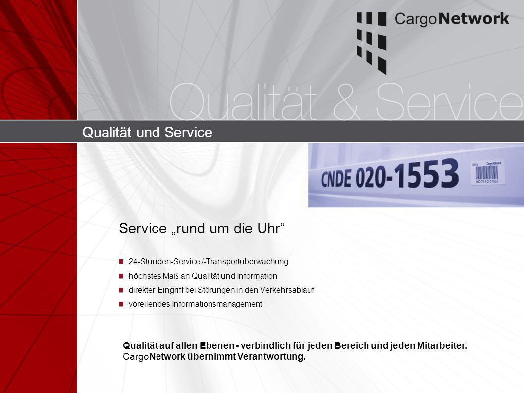"""Service """"rund um die Uhr"""