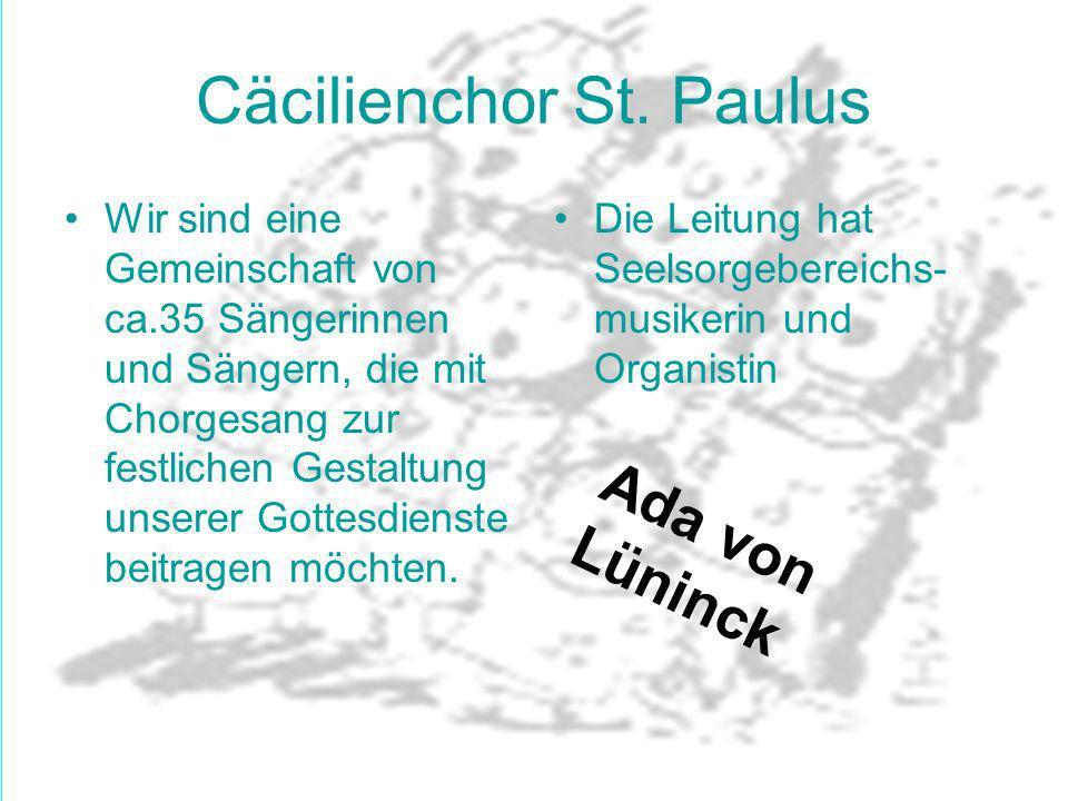 Cäcilienchor St. Paulus