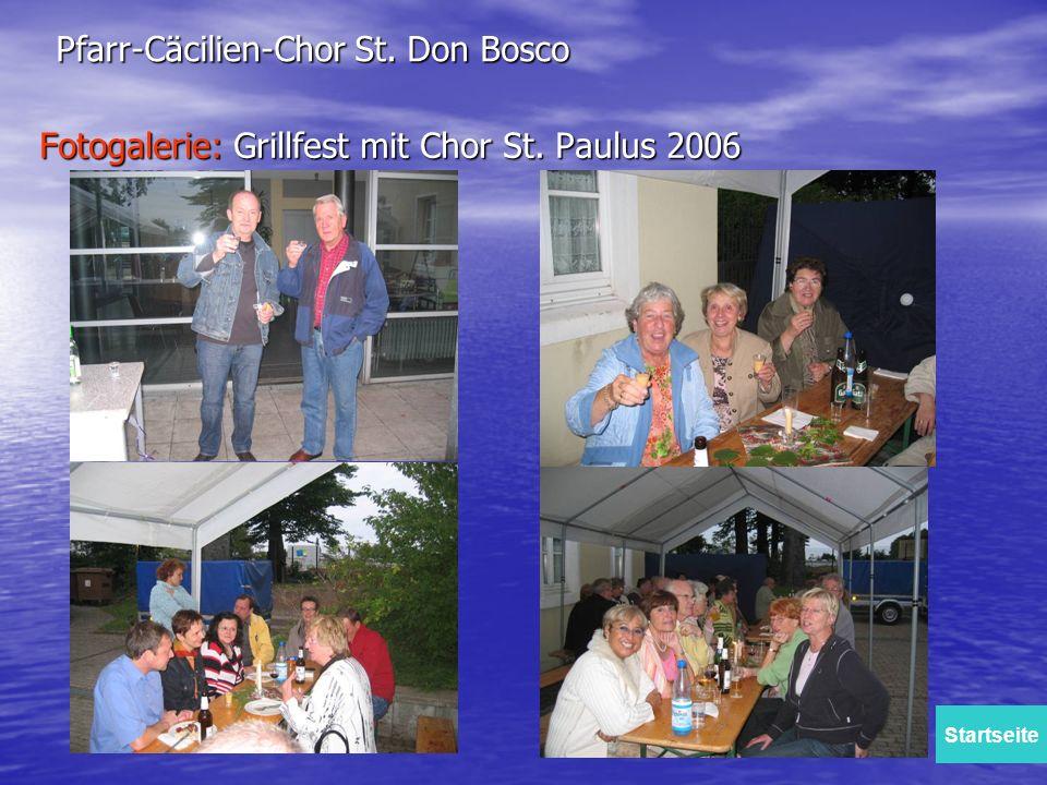 Fotogalerie: Grillfest mit Chor St. Paulus 2006