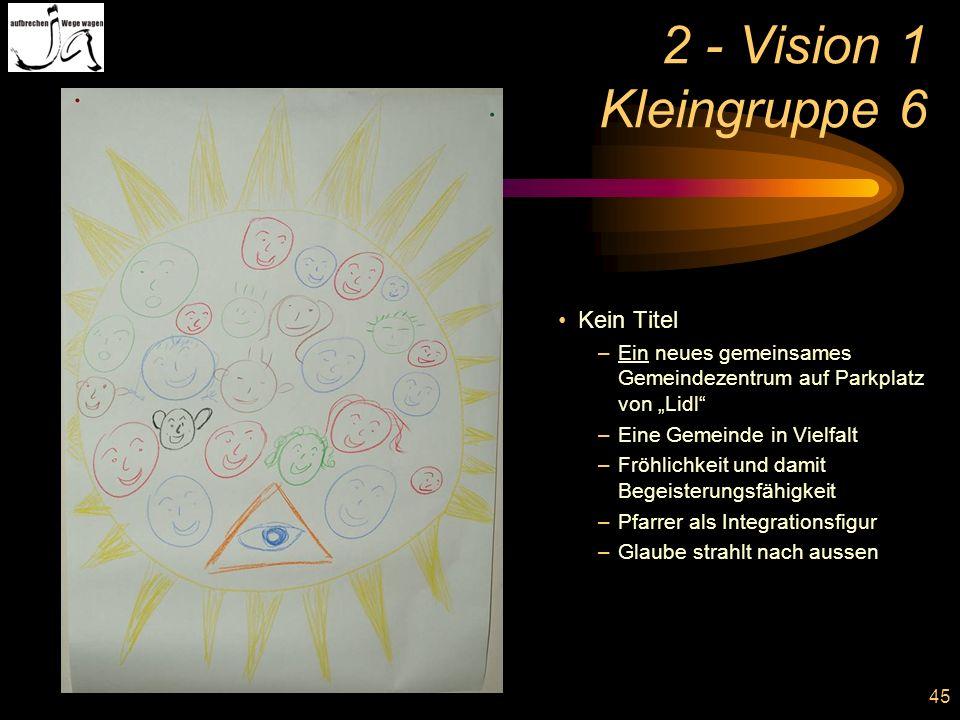 2 - Vision 1 Kleingruppe 6 Kein Titel