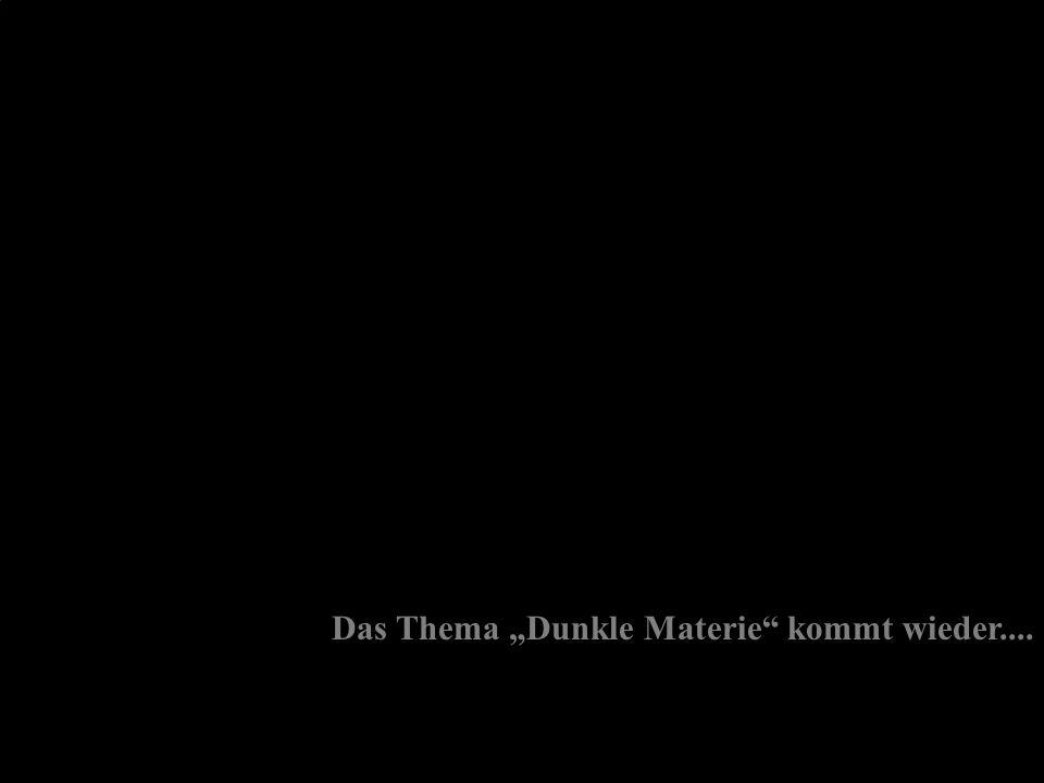 """3.6.27 Das Thema """"Dunkle Materie kommt wieder...."""