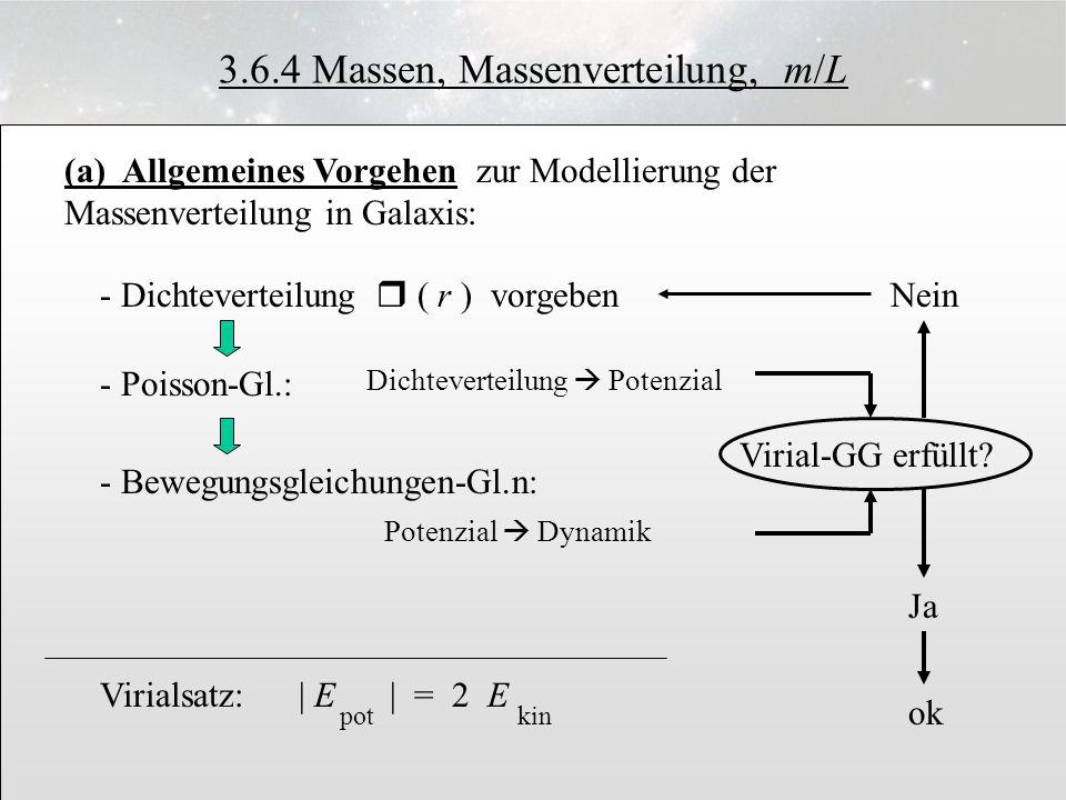 3.6.4 Massen, Massenverteilung, m/L