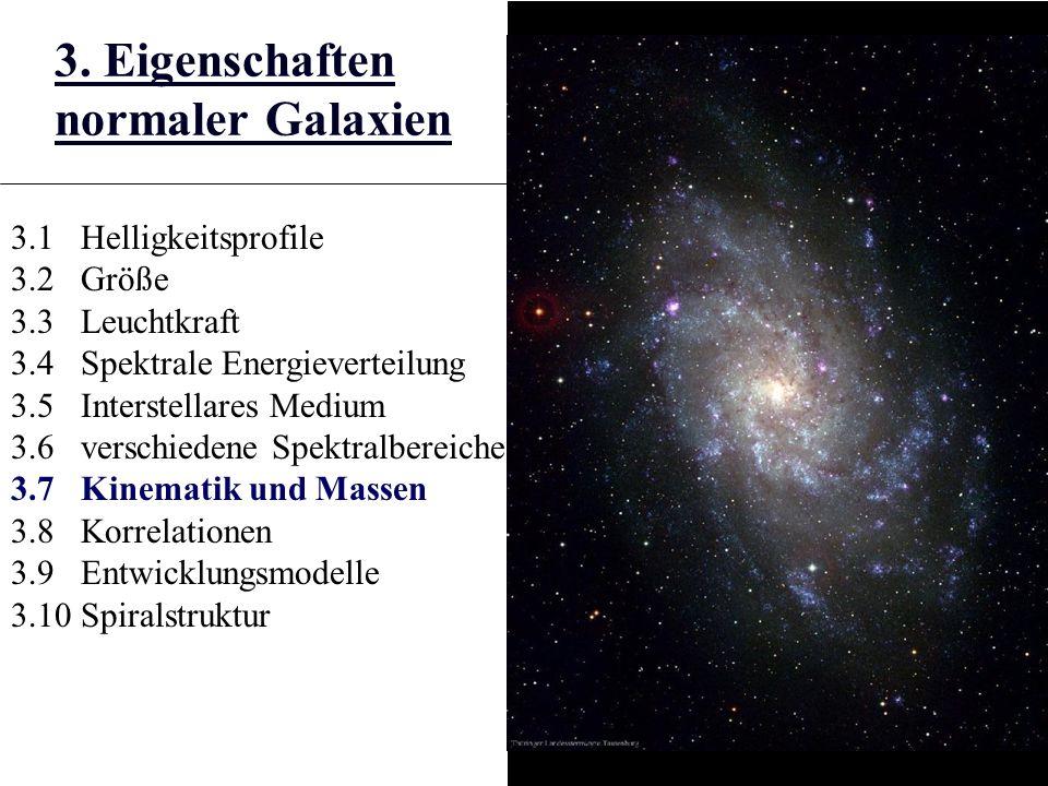 3. Eigenschaften normaler Galaxien