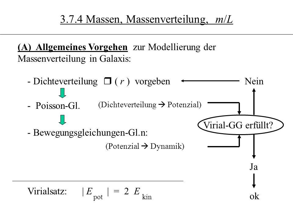 3.7.4 Massen, Massenverteilung, m/L