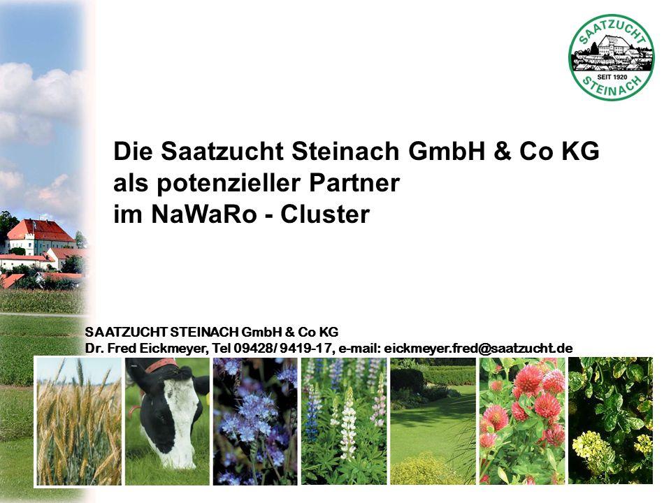 Die Saatzucht Steinach GmbH & Co KG als potenzieller Partner