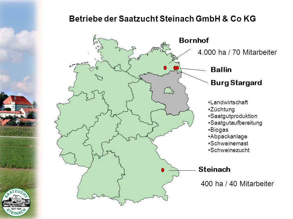 Betriebe der Saatzucht Steinach GmbH & Co KG
