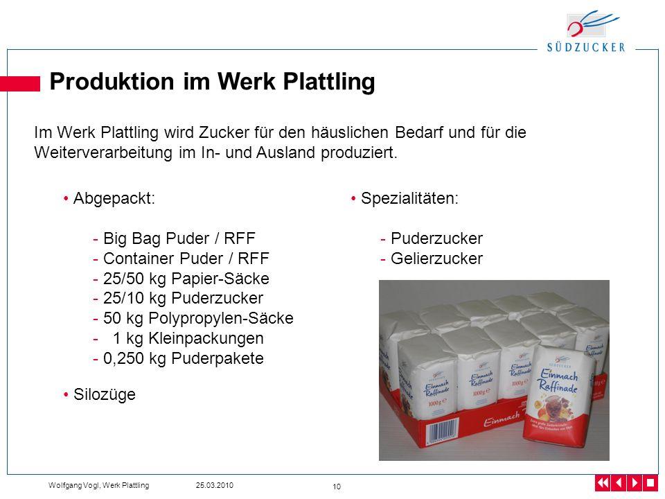 Produktion im Werk Plattling