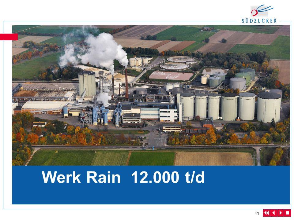 Werk Rain 12.000 t/d