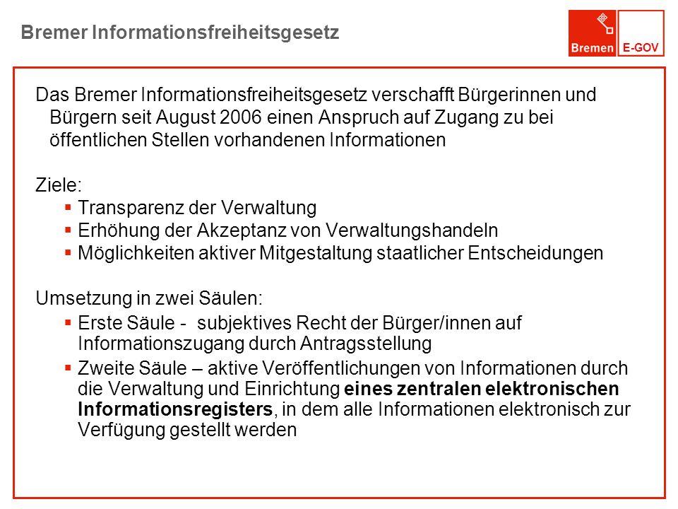Bremer Informationsfreiheitsgesetz