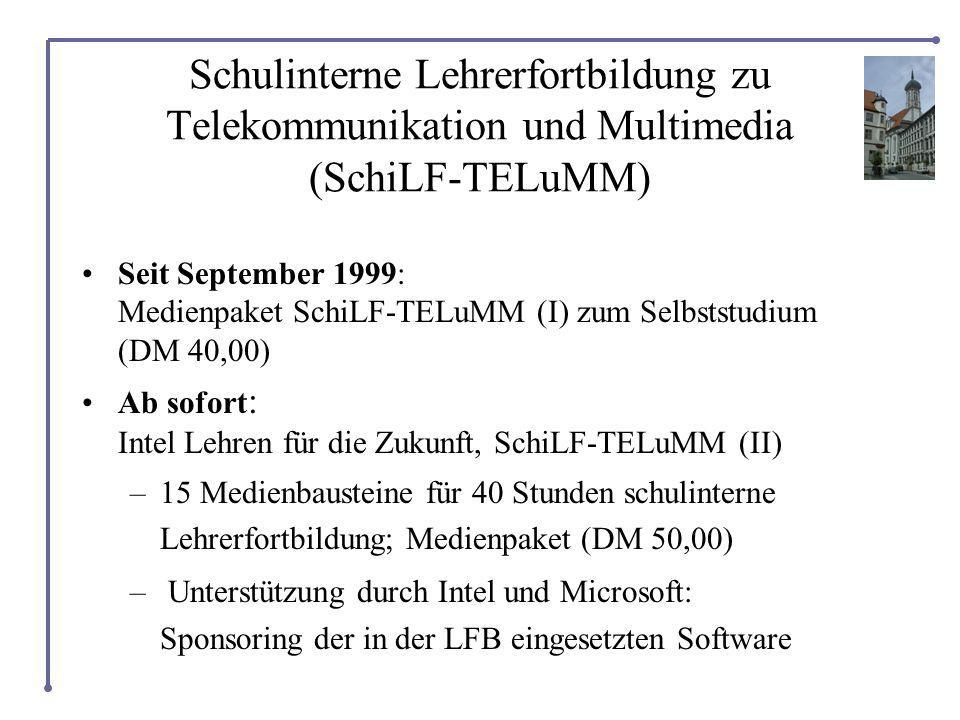 Schulinterne Lehrerfortbildung zu Telekommunikation und Multimedia (SchiLF-TELuMM)