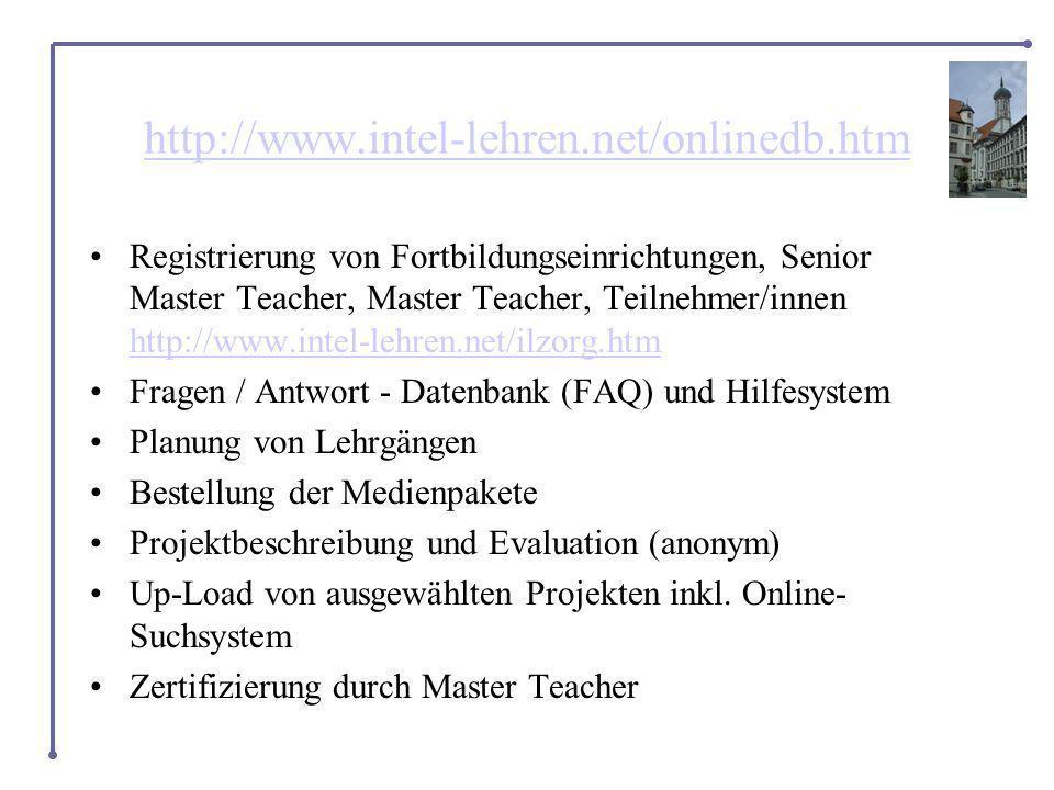 http://www.intel-lehren.net/onlinedb.htm