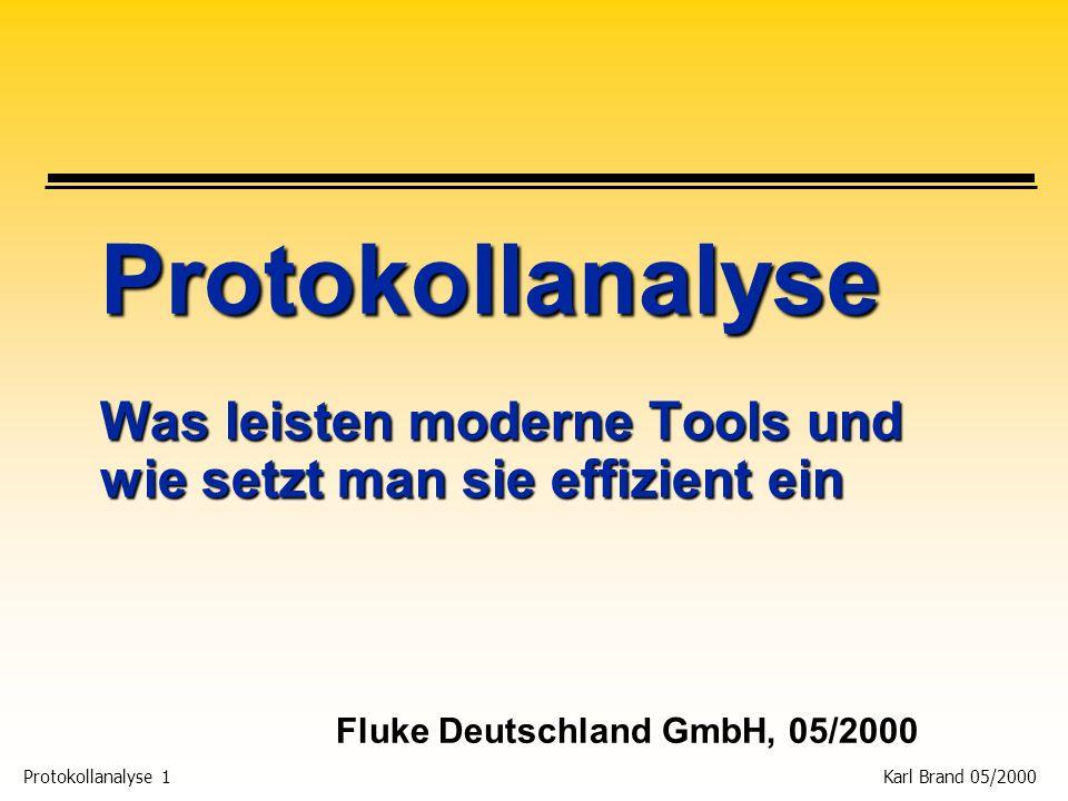 Fluke Deutschland GmbH, 05/2000