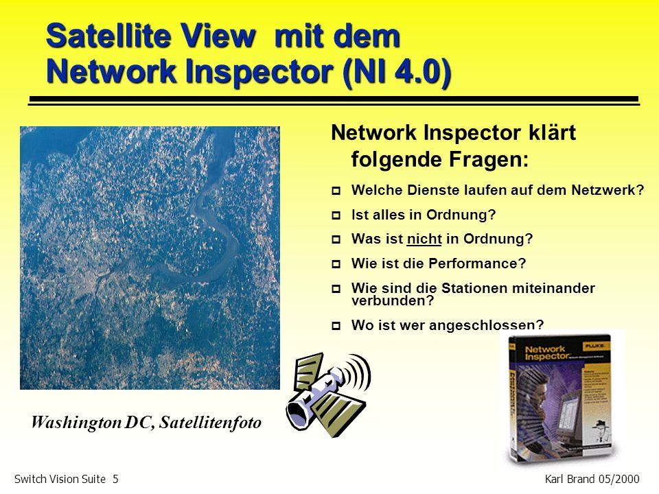 Satellite View mit dem Network Inspector (NI 4.0)