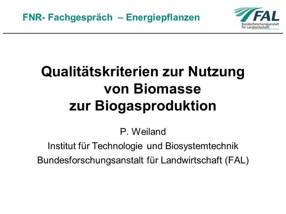 Qualitätskriterien zur Nutzung von Biomasse