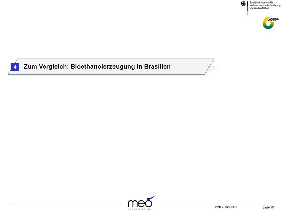 Zum Vergleich: Bioethanolerzeugung in Brasilien