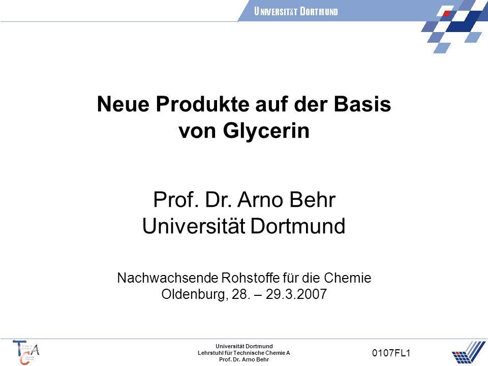 Neue Produkte auf der Basis von Glycerin