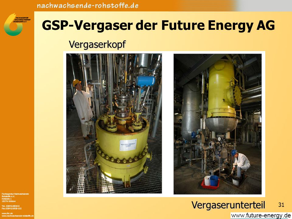 GSP-Vergaser der Future Energy AG