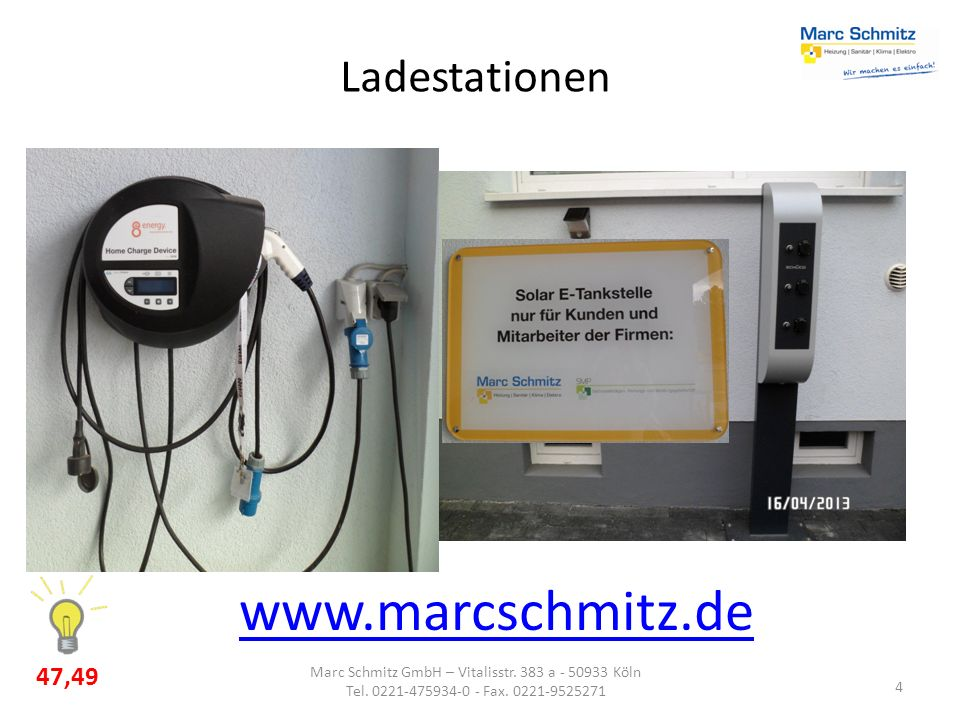 Marc Schmitz GmbH – Vitalisstr. 383 a - 50933 Köln