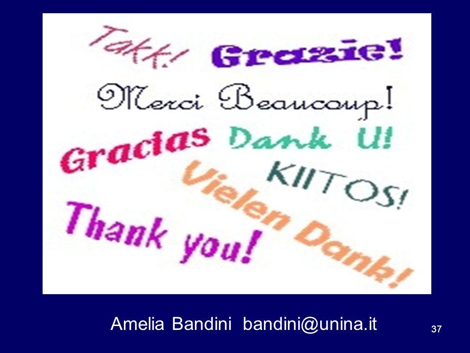 Amelia Bandini bandini@unina.it