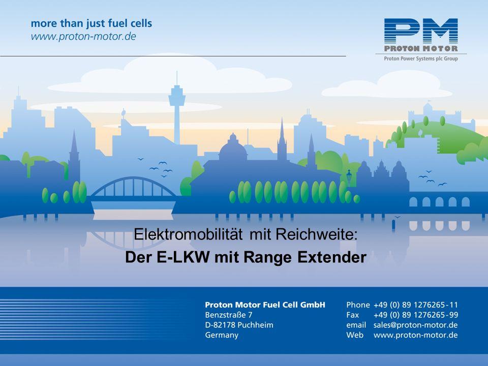 Elektromobilität mit Reichweite: Der E-LKW mit Range Extender