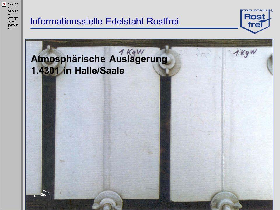 Atmosphärische Auslagerung 1.4301 in Halle/Saale