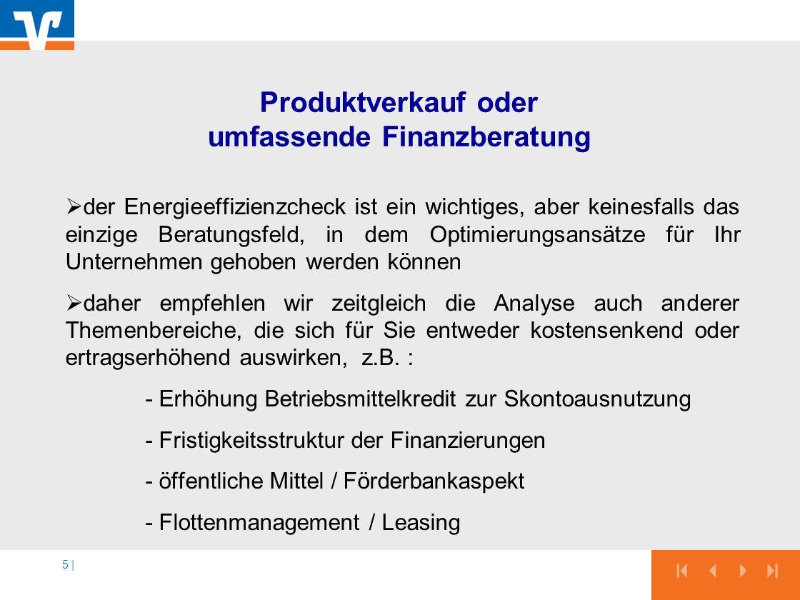 Produktverkauf oder umfassende Finanzberatung