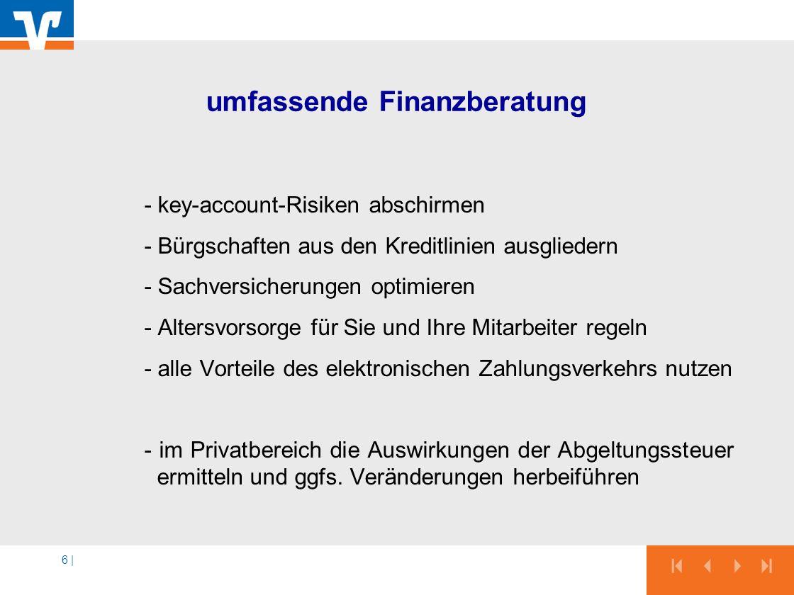 umfassende Finanzberatung