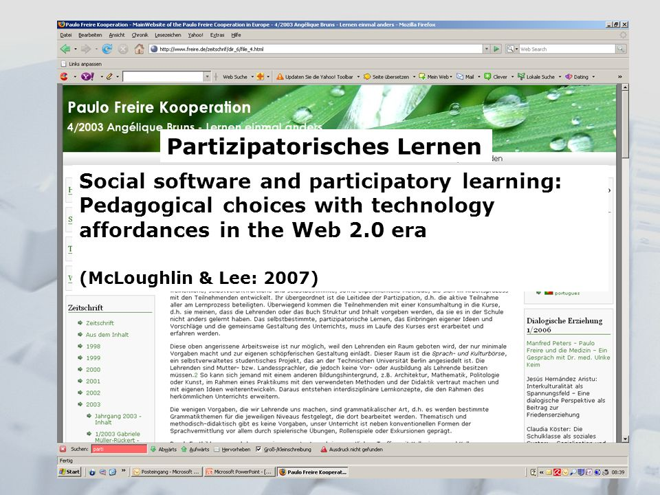 Partizipatorisches Lernen