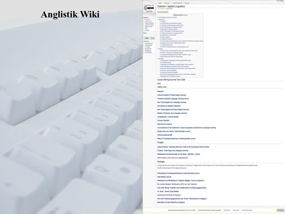 Anglistik Wiki