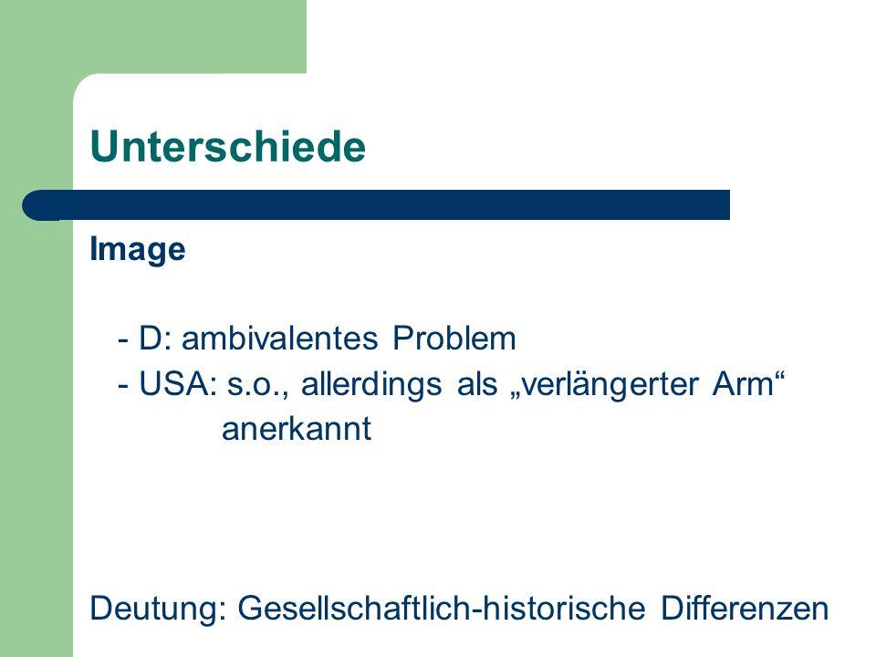 Unterschiede Image - D: ambivalentes Problem