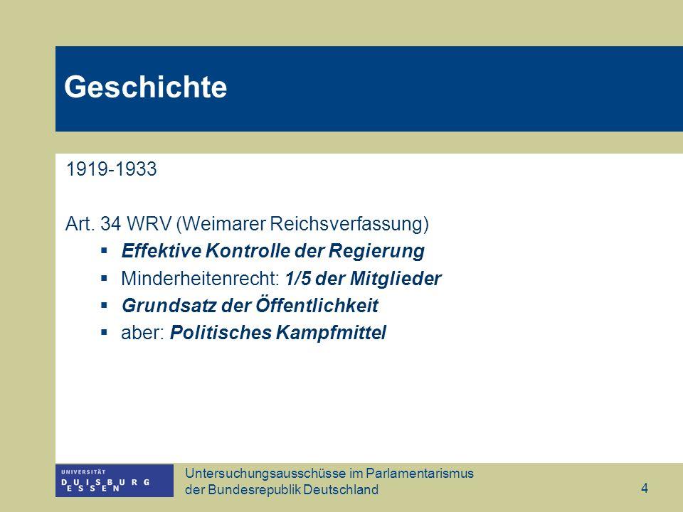 Geschichte 1919-1933 Art. 34 WRV (Weimarer Reichsverfassung)