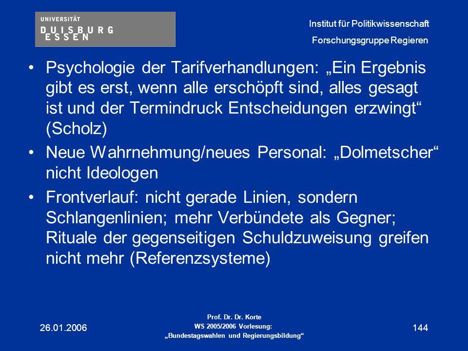 """Neue Wahrnehmung/neues Personal: """"Dolmetscher nicht Ideologen"""
