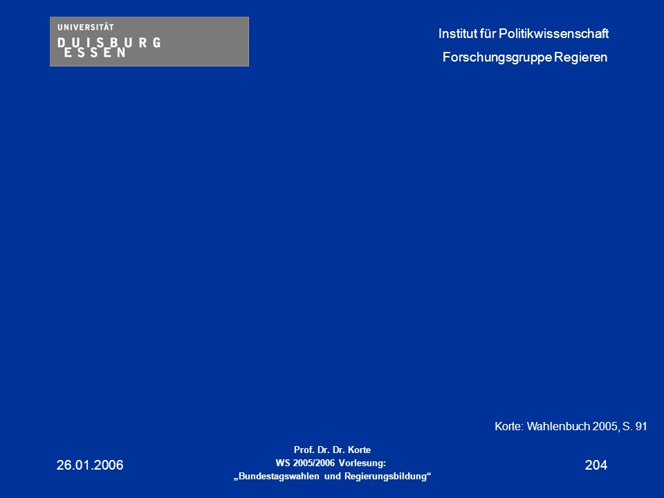 Korte: Wahlenbuch 2005, S. 91 26.01.2006