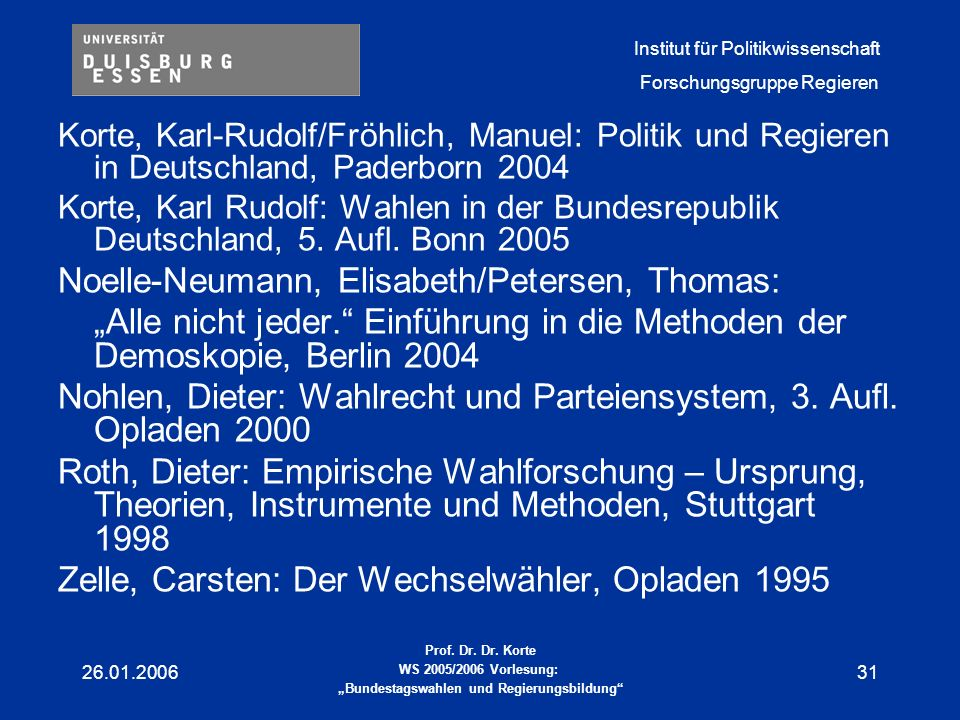 Noelle-Neumann, Elisabeth/Petersen, Thomas: