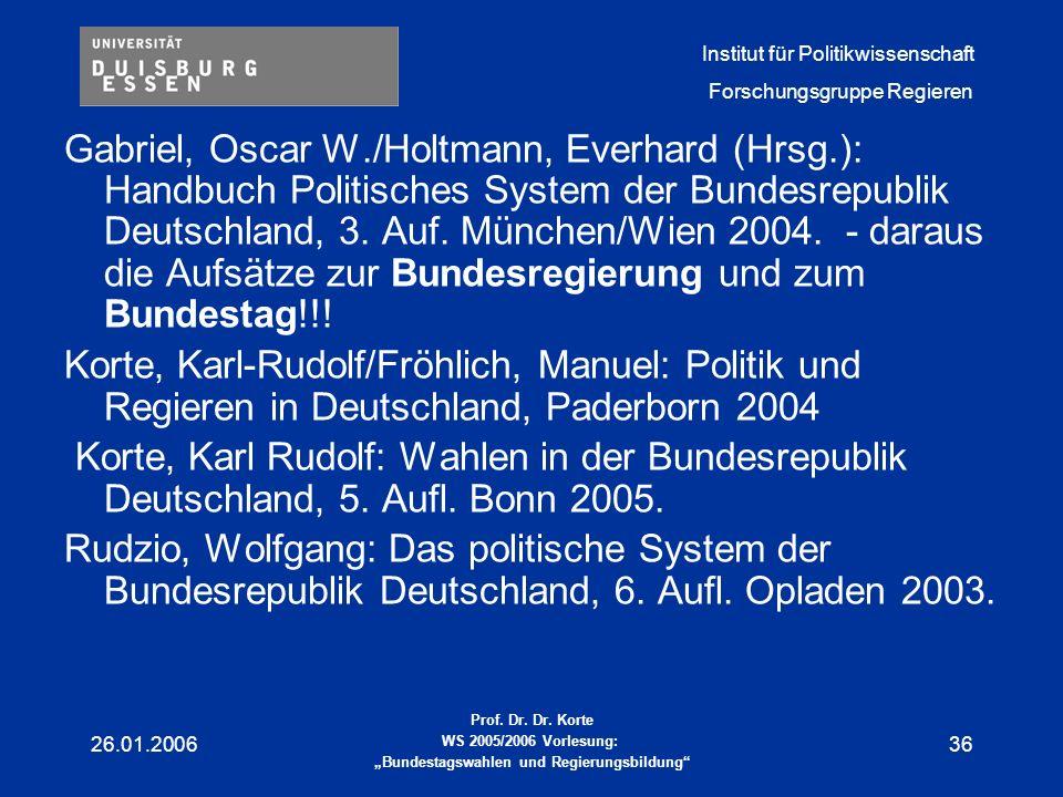 Gabriel, Oscar W. /Holtmann, Everhard (Hrsg